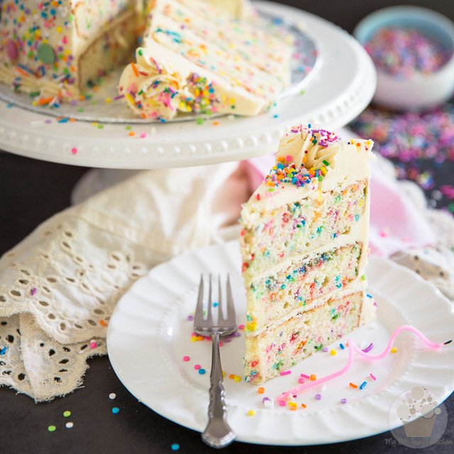 Funfetti Birthday Cake • My Evil Twin's Kitchen
