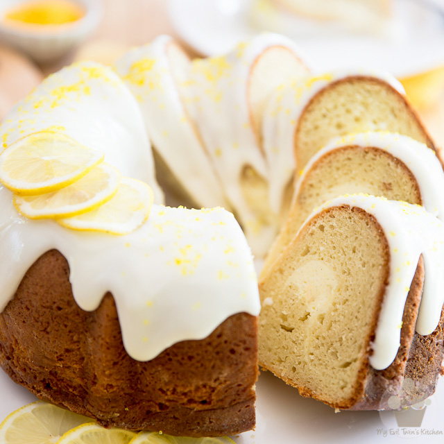 Lemon Cream Cheese Bundt Cake