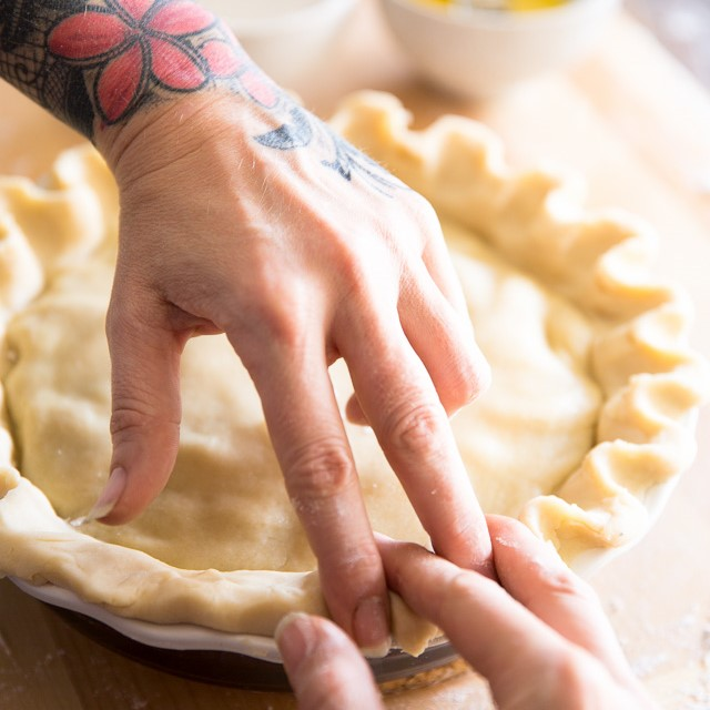 The Best and Easiest Food Processor Pie Crust