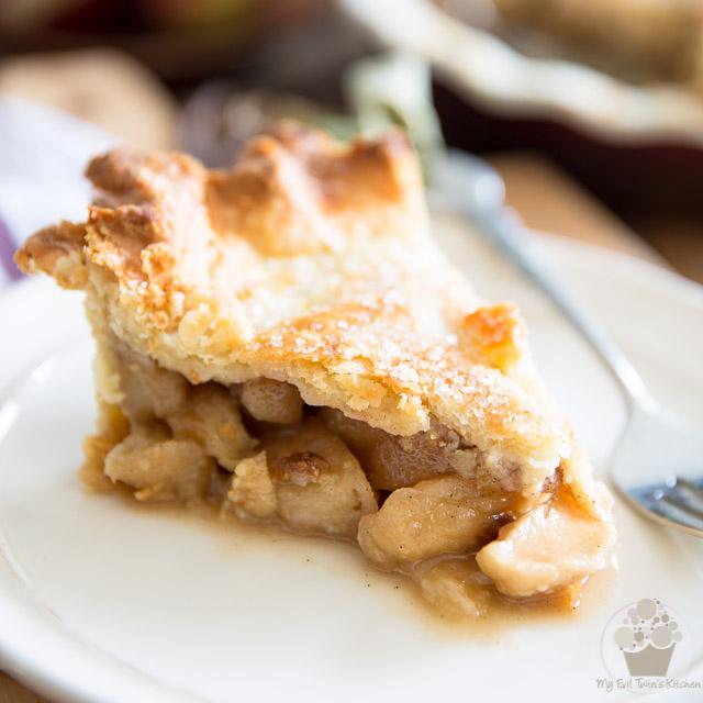 Brown Sugar Maple Apple Pie