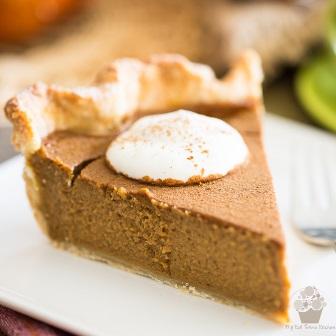Spiced Pumpkin Pie • My Evil Twin's Kitchen