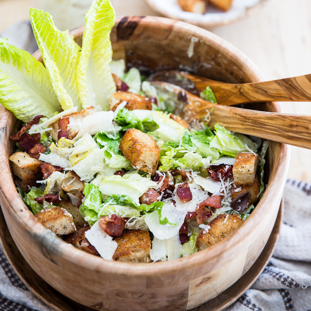 The Ultimate Caesar Salad - Entirely From Scratch