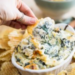 Cheesy Artichoke Spinach Dip | eviltwin.kitchen