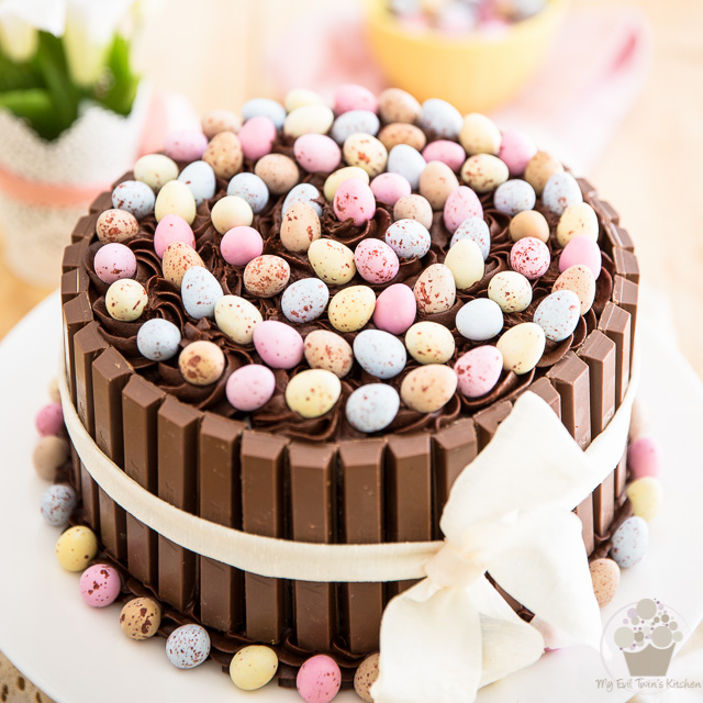 Chocolate Easter Egg Cake Recipe