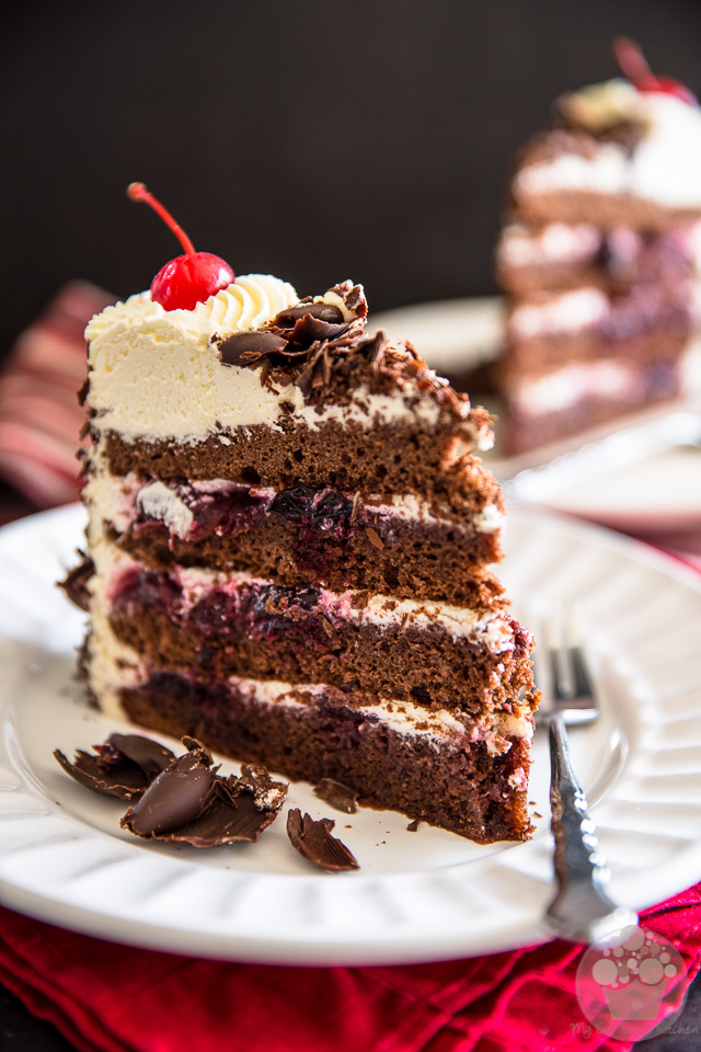 Black Forest Cake | eviltwin.kitchen