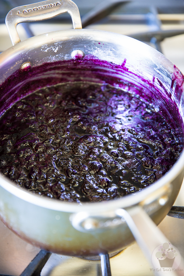 Quick Blueberry Jam by My Evil Twin's Kitchen | Step-by-step instruction on eviltwin.kitchen