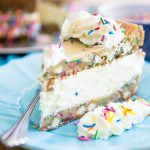Turn a summer favorite into a real party with this White Chocolate Funfetti Giant Ice Cream Sandwich. Guaranteed to please the kid in you (and well, probably real kids too!)