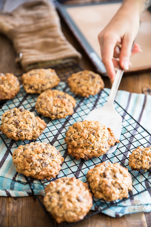 Big Fat Chewy Oatmeal Cookies by My Evil Twin's Kitchen | Step-by-step instructions on eviltwin.kitchen