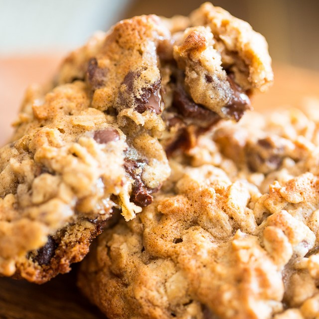 Big Fat & Chewy Oatmeal Cookies