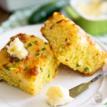 Moist, tender, slightly sweet, deliciously salty and perfectly cheezy - quite simply the best Jalapeño Cheddar Cornbread you'll ever have!