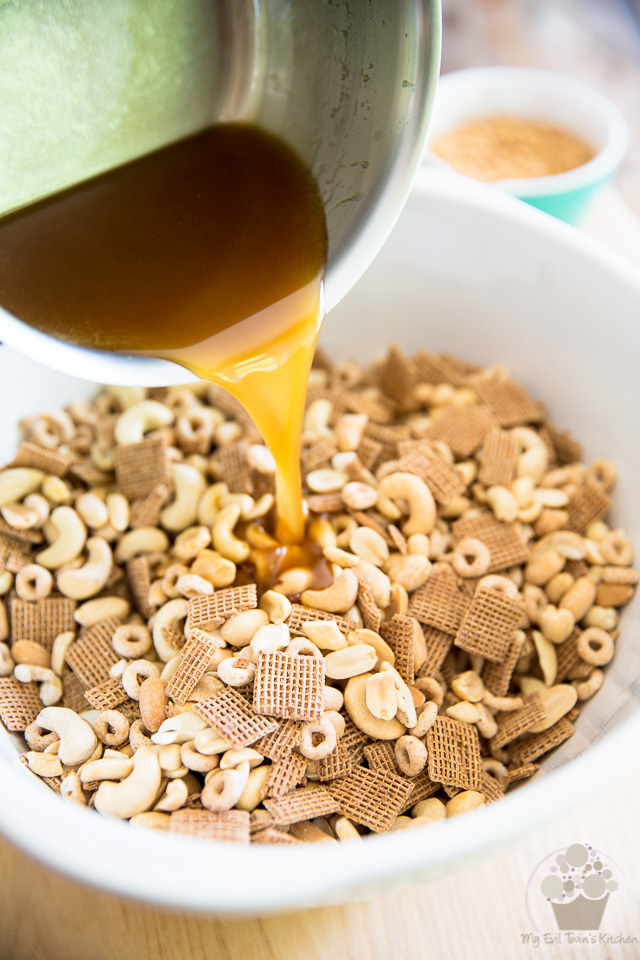 Maple Chai Party Mix by My Evil Twin's Kitchen | Step-by-step instructions on eviltwin.kitchen