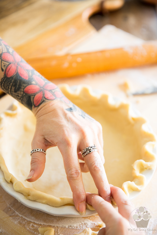 he best and easiest food processor pie crust recipe by My Evil Twin's Kitchen | Recipe and step-by-step instructions on eviltwin.kitchen