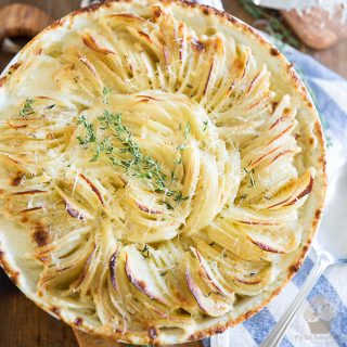 Scalloped Potatoes by My Evil Twin's Kitchen | Recipe and step-by-step instructions on eviltwin.kitchen
