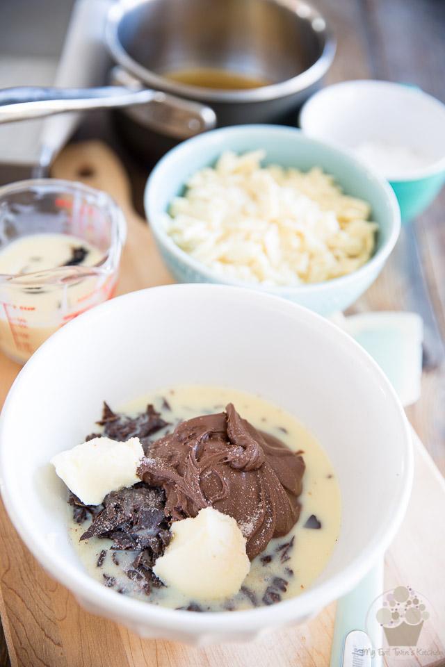 Easy Nutella Amaretto Fudge by My Evil Twin's | Recipe on eviltwin.kitchen