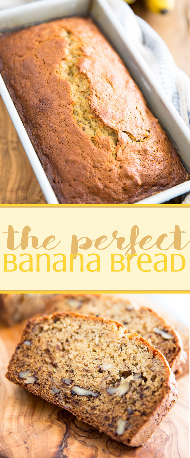 Looking for the perfect banana bread recipe? Look no further! This one will make you want to throw away your other recipes before you've swallowed your first bite!