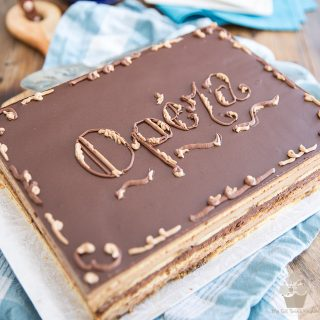 Classic Opera Cake from Scratch