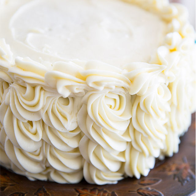 Cream Cheese Frosting Cake Decorating Recipe