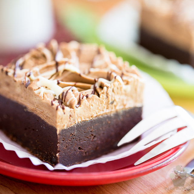 Stout Dark Chocolate Brownies
