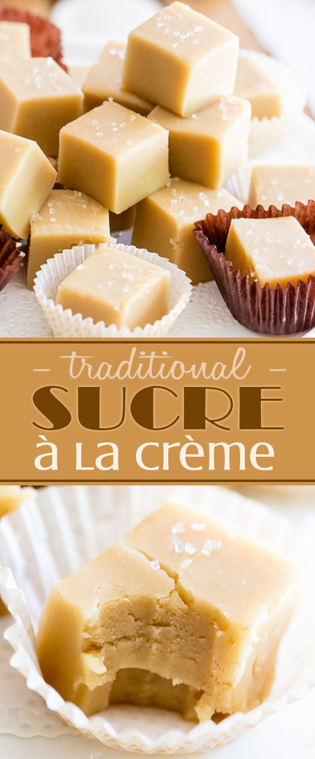 A timeless tradition in Québec, Sucre à la Crème is a smooth creamy and sinfully decadent treat made very simply with, as its name suggests, sugar and cream