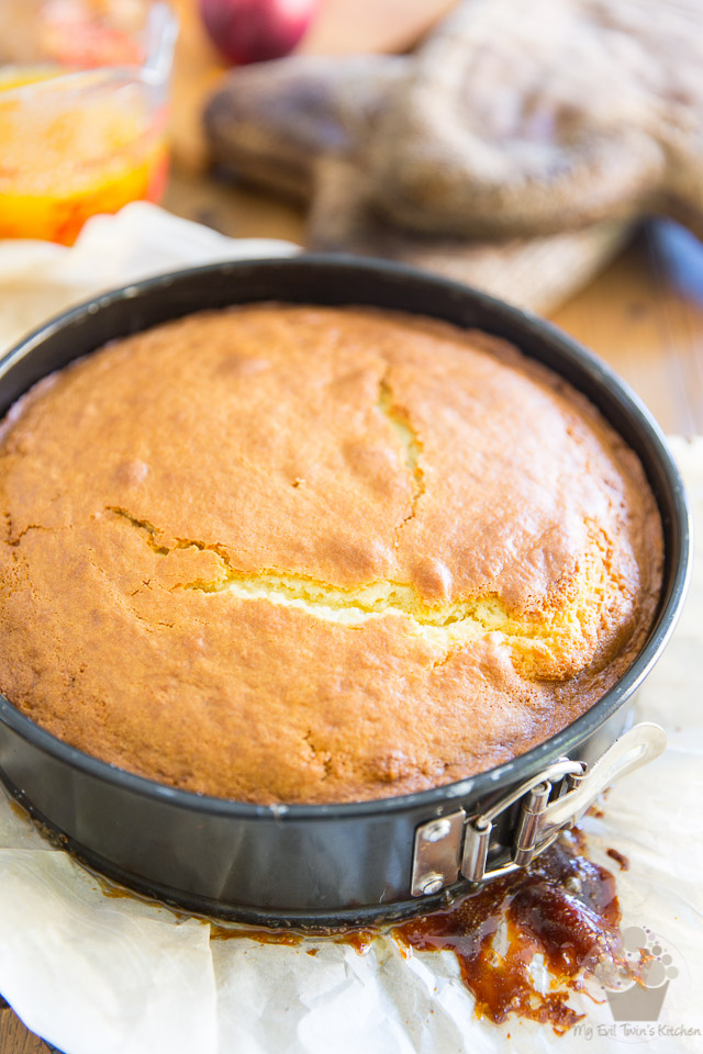 Apricot Upside Down Cake Using Cake Mix