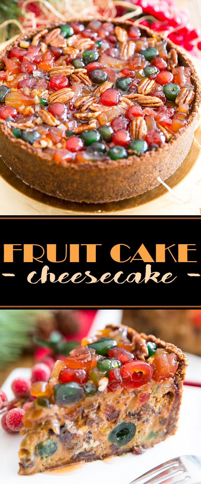 Fruit Cake Cheesecake by My Evil Twin's Kitchen | Recipe and step-by-step instructions on eviltwin.kitchen